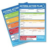 Written asthma action plans