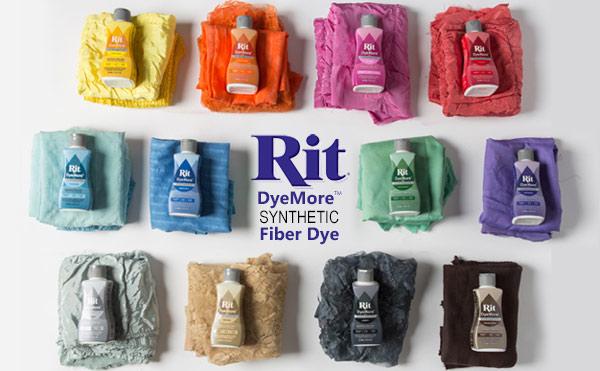Rit Dye More Synthetic Liquid Dye-7 oz by Manhattan Wardrobe Supply
