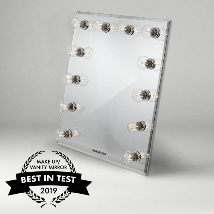 bäst i test sminkspegel vanity mirror 2019 årets sminkspegel iconmirror infinity sminkspegel