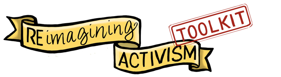 logo for the Re.imagining Activism Toolkit