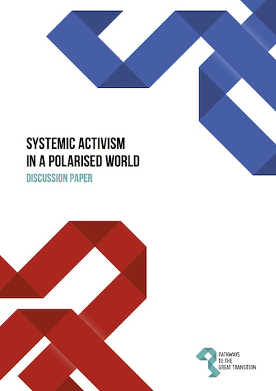 front cover of Systemic Activism in a Polarised World: Discussion Paper