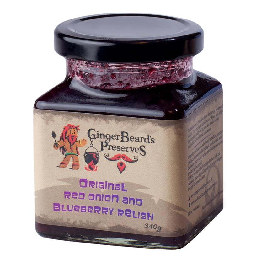 Red Onion and Blueberry Relish