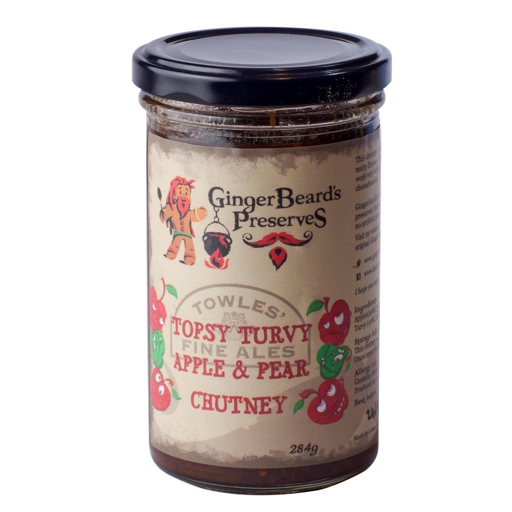 Topsy Turvy Apple & Pear Chutney