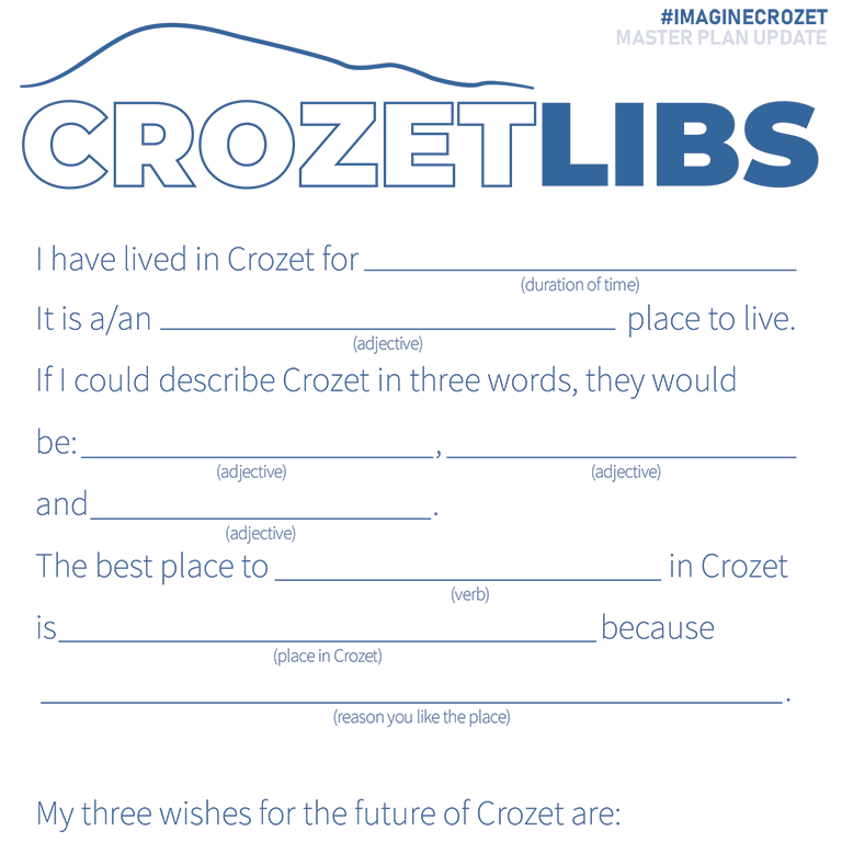 "Crozet Master Plan ""Lib"" A kind of ""fill-in the blank"""