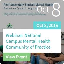 National Campus Mental Health CoP Webinar