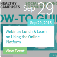 Lunch & Learn on Using the Online Community Platform
