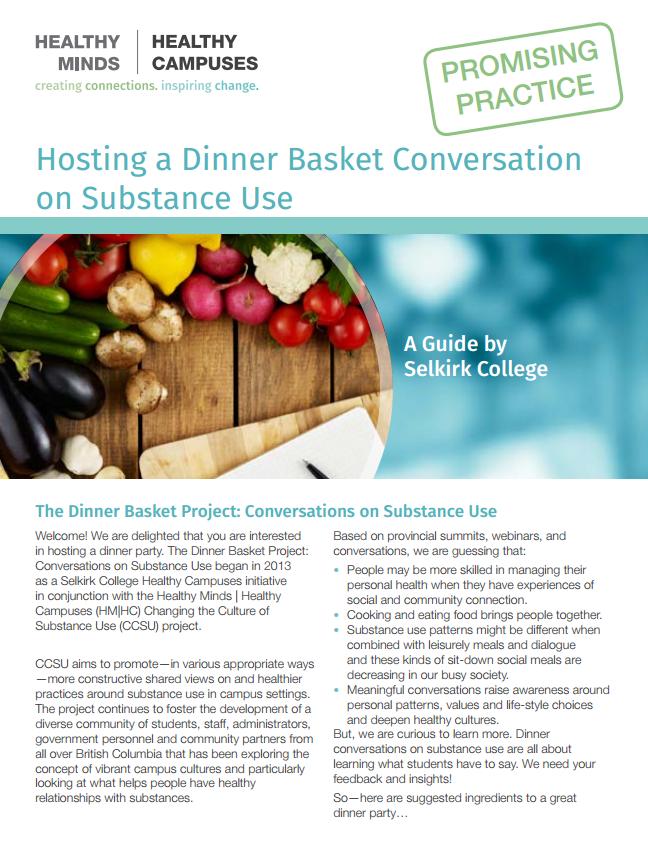 Hosting a Dinner Basket Conversation