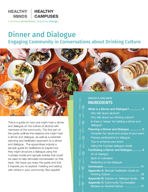 Dinner and Dialogue