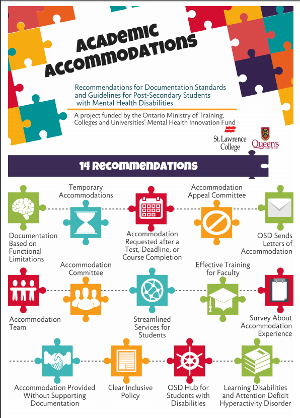 Guidelines for Academic Accommodations