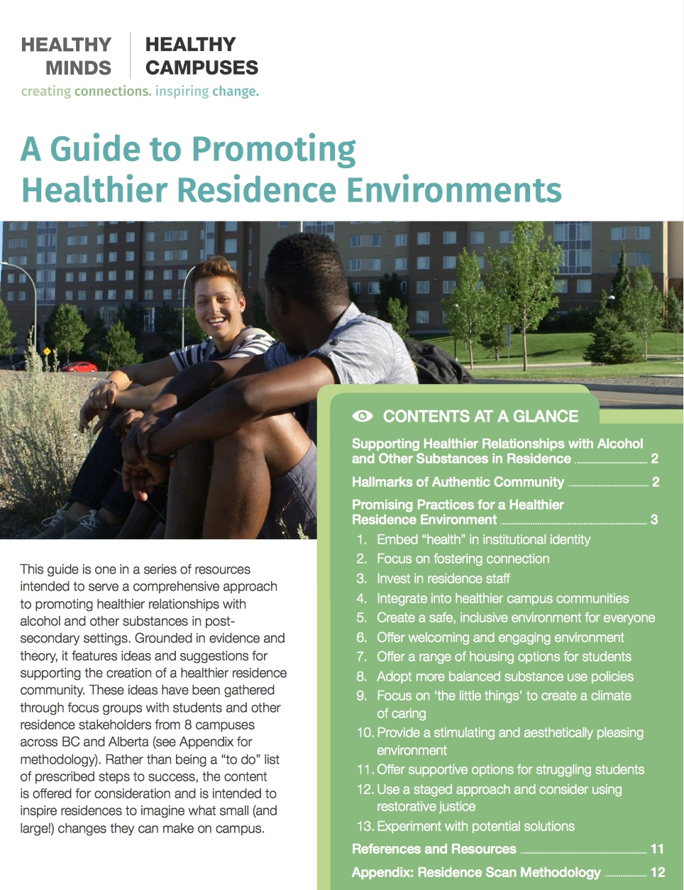 A Guide to Promoting Healthier Residence Envrionments