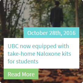 UBC Naloxone kits
