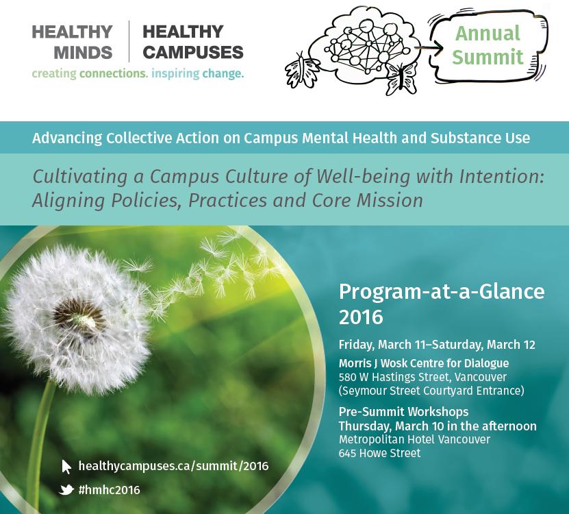 Summit 2016 Program-at-a-Glance