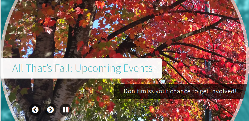 All That's Fall- Upcoming Events
