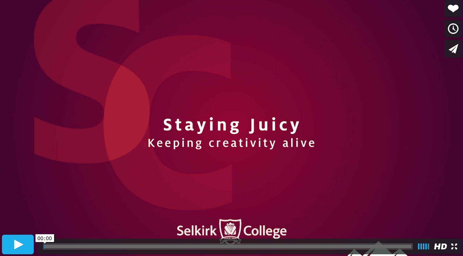 Staying Juicy: Keeping Creativity Alive