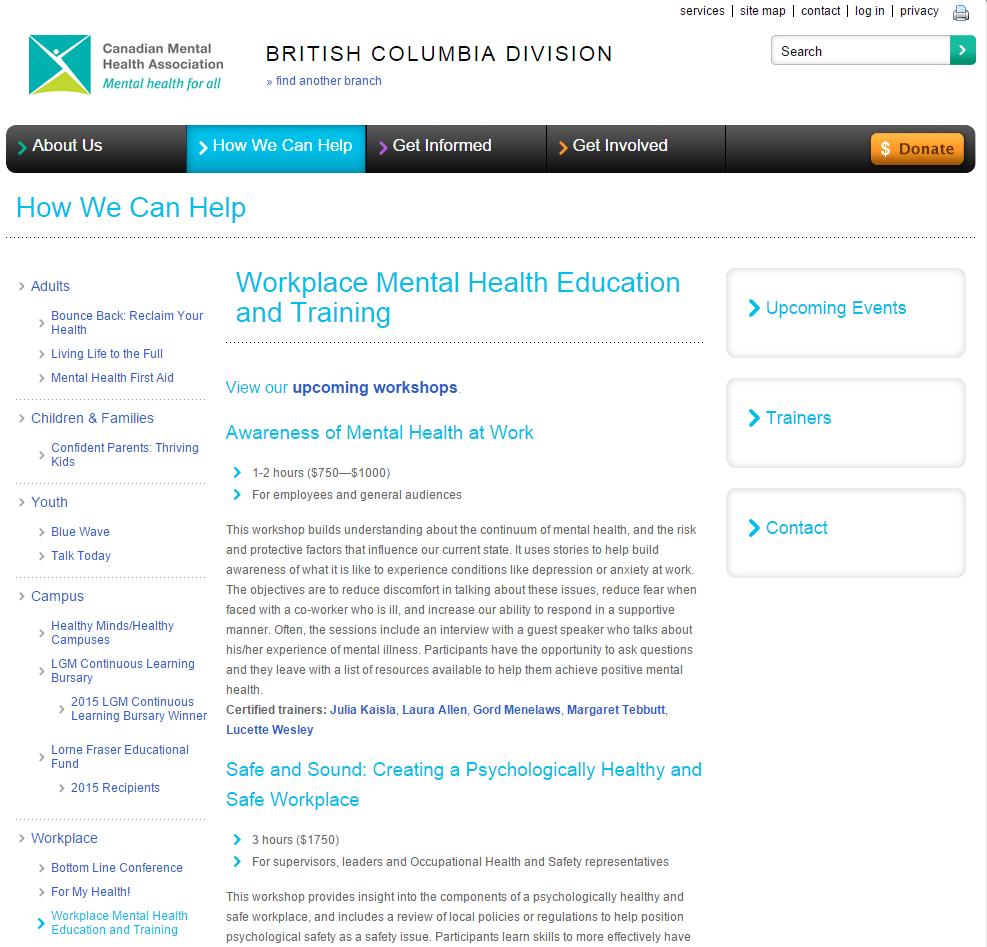 Training and Workshops image