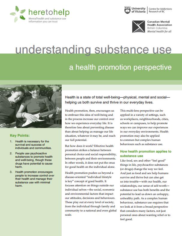Understanding Substance Use