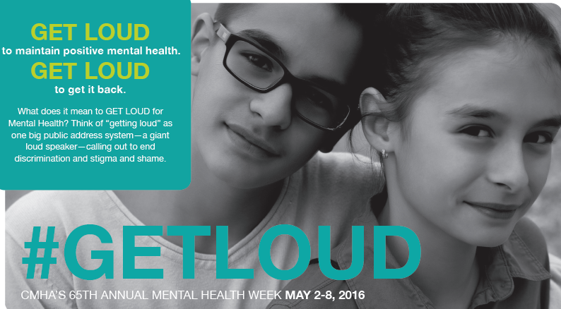 #GETLOUD for Mental Health
