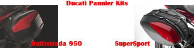Ducati Pannier Kit
