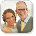 Jimmy and Sarah Dale Button Image