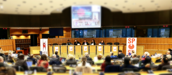 Panel event for the launch of the IHEU Freedom of Thought Report 2015, at the European Parliament in December