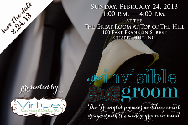 The Invisible Groom flier