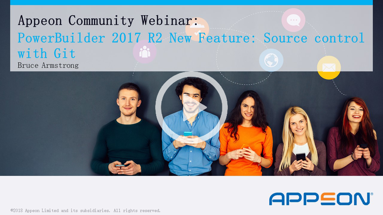 Recorded Webcast: Source Control Using Git - a PowerBuilder 2017 R2 New Feature