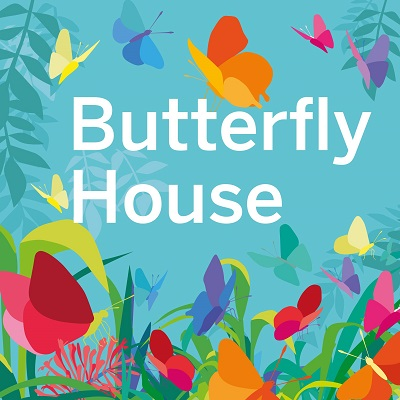 Butterfly House graphic