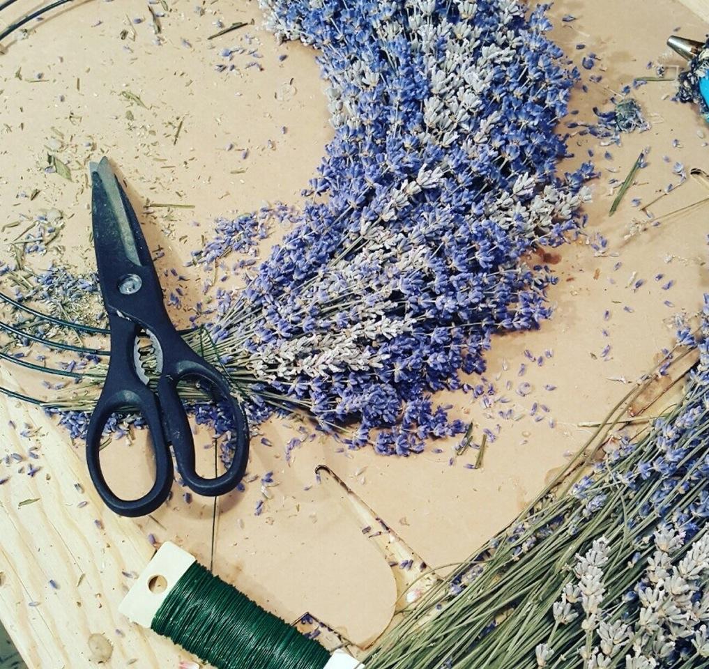 Wreath Making Class @ Sage Creations Organic Farm | Palisade | Colorado | United States