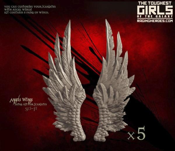 Icariates Angel Wings