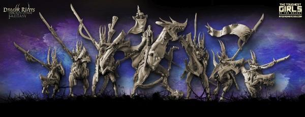 Draahk Riders miniatures