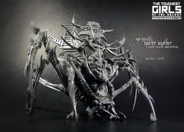 Syl-Yarath The Spider Mother miniatures