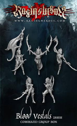 The Blood Vestals Command Group (Fantasy)