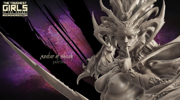 Avatar of Shaah fantasy miniatures