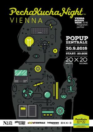 Plakat PechaKucha Night Vienna