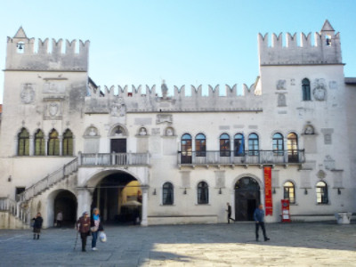 Tagungsort: Der Praertorenpalast in Koper