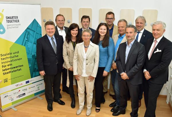 Gruppenbild Lenkungsausschuss