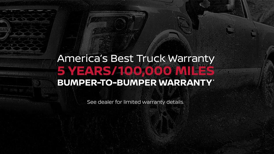 Nissan Best Truck Warranty