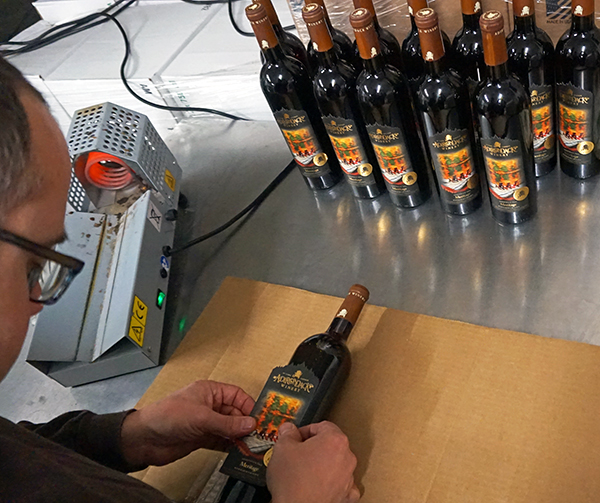 Every bottle is labeled 1-500 and was labeled by hand!