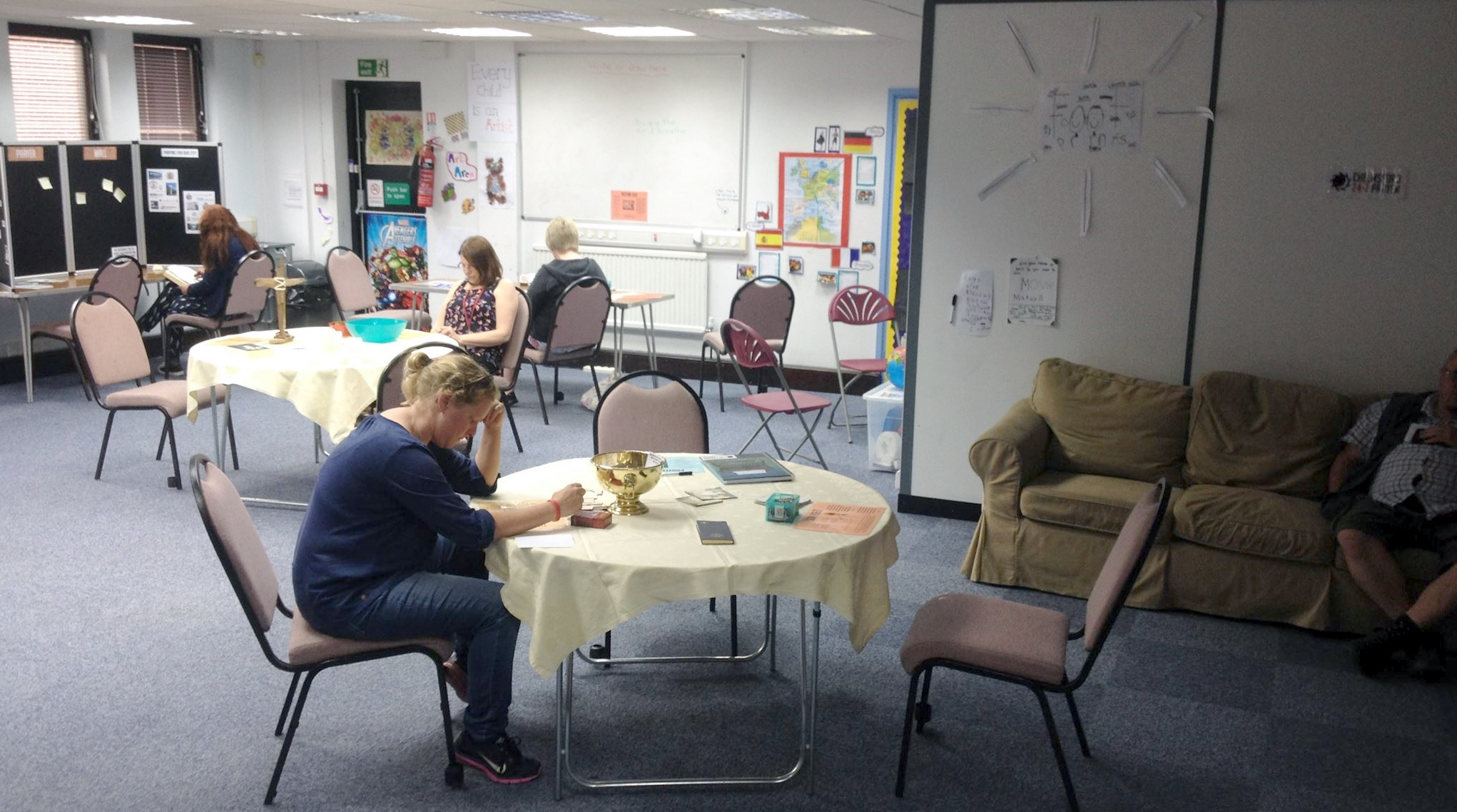 Prayer Space at Cables House 12 June