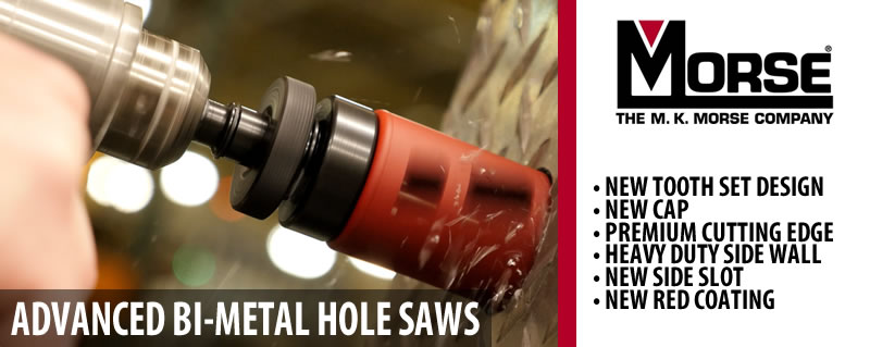 Advanced Bi-Metal Hole Saws