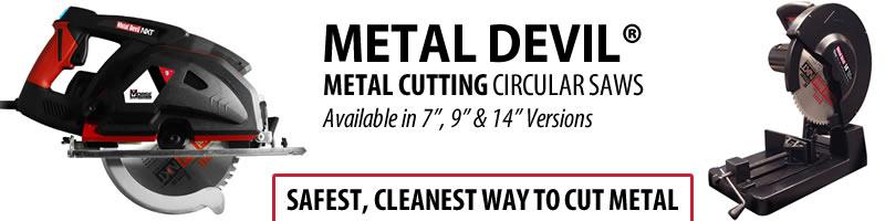 M.K. Morse Metal Devil Metal Cutting Circular Saws
