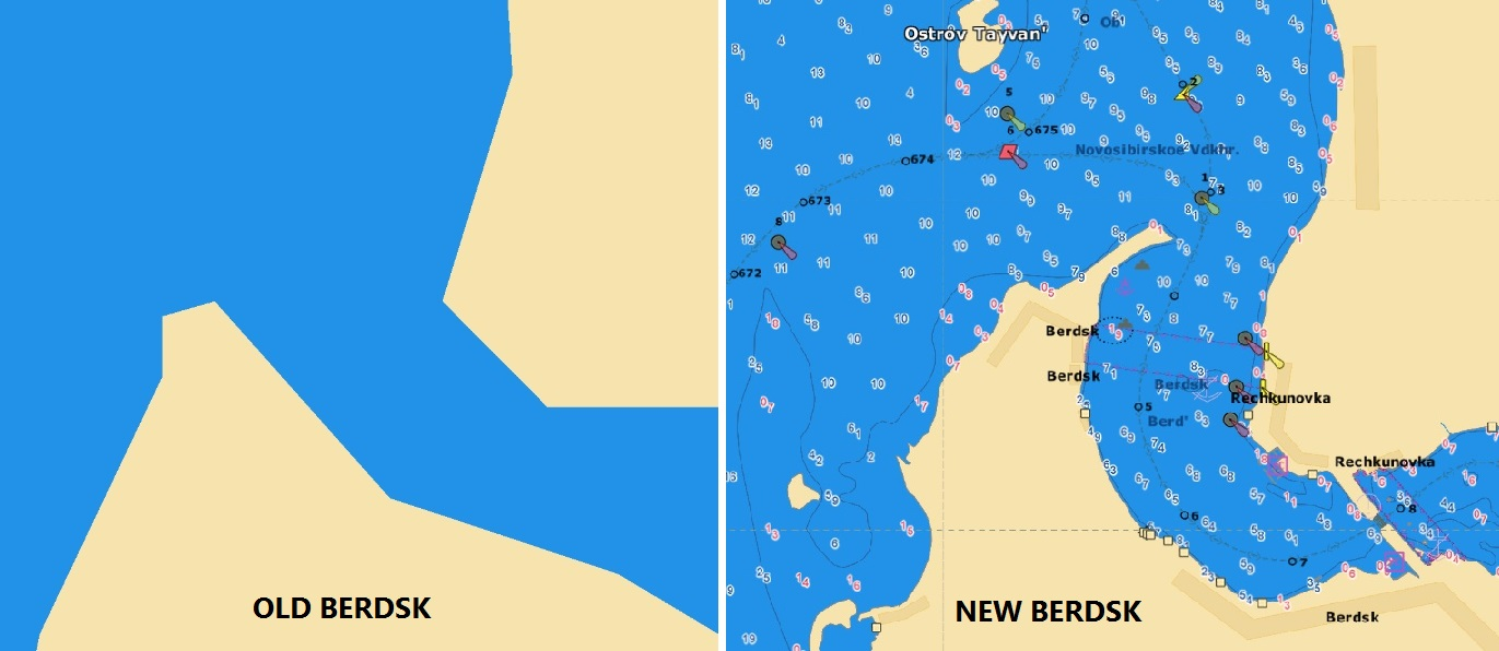 BAYKAL AND SIBERIAN LAKES Jeppesen chart