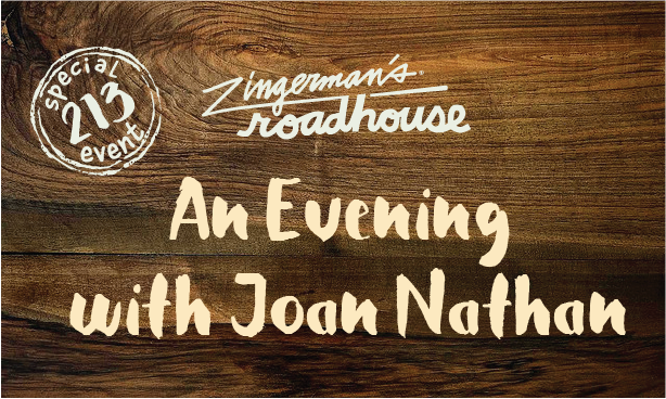 An Evening with Joan Nathan