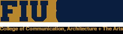 Logo: FIU Miami Beach Urban Studios. College of Communication, Architecture + The Arts