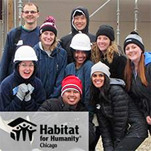 DMC Chicago lends a hand to Habitat for Humanity