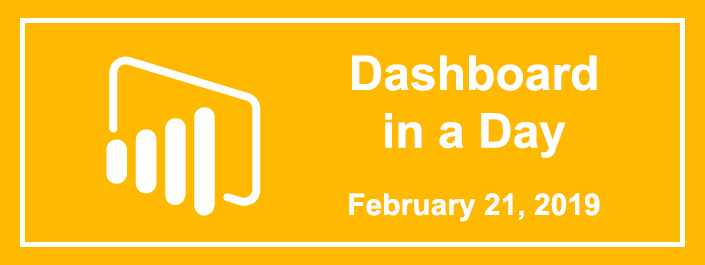 Dashboard in a Day Feb 21 2019