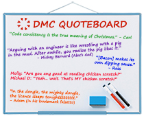 DMC Quote Board January 2019