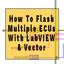 Flash Multiple ECUs with LabVIEW