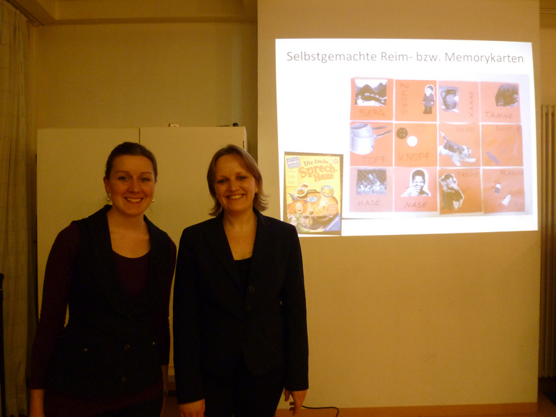 Bilingualism Matters staff at an event in Konstanz