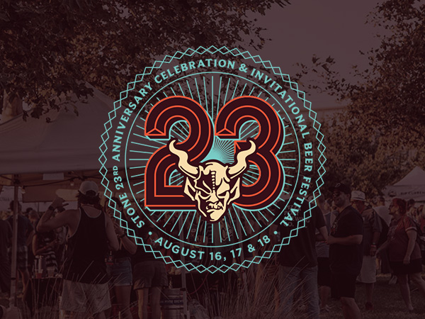 , Stone Brewing Celebrates 23 Years